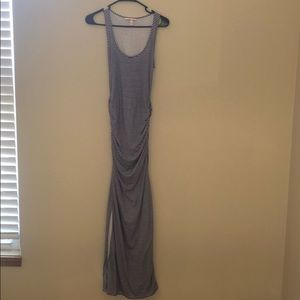VS Striped Maxi Dress